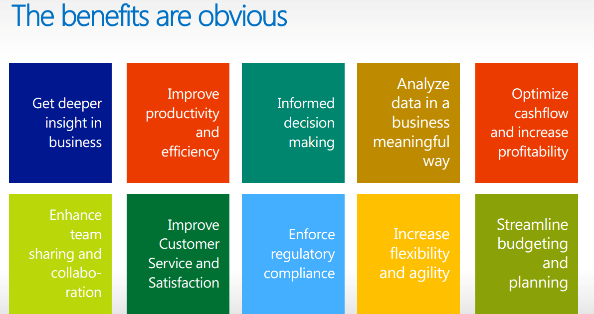 Business Intelligence Benefits