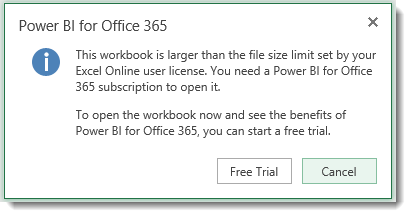 Power BI file Size limit